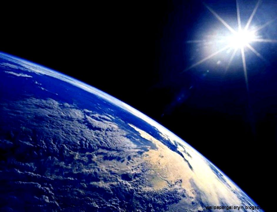 Cool Space Earth Hd Wallpaper Wallpaper Gallery