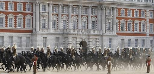 Foto Suasana Persiapan Pernikahan Pangeran William dan Kate Middleton