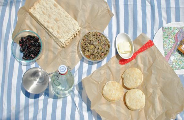 picnic spread