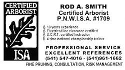 Rod A. Smith, Arborist