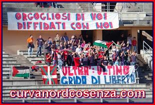 Curva nord Cosenza