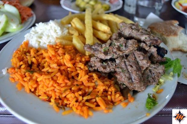 Azrou, pranzo