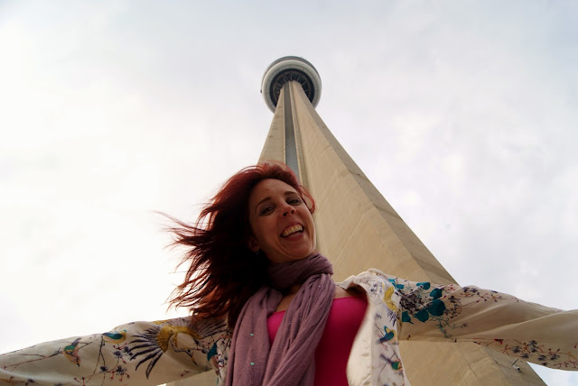 New Year, Roundup, The Purple Scarf, Melanie.Ps, Toronto, Ontario, Canada, CN Tower