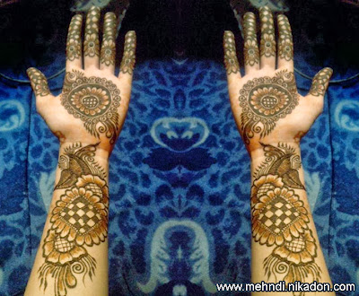 Eid Mehndi Designs Photos For Full Hand