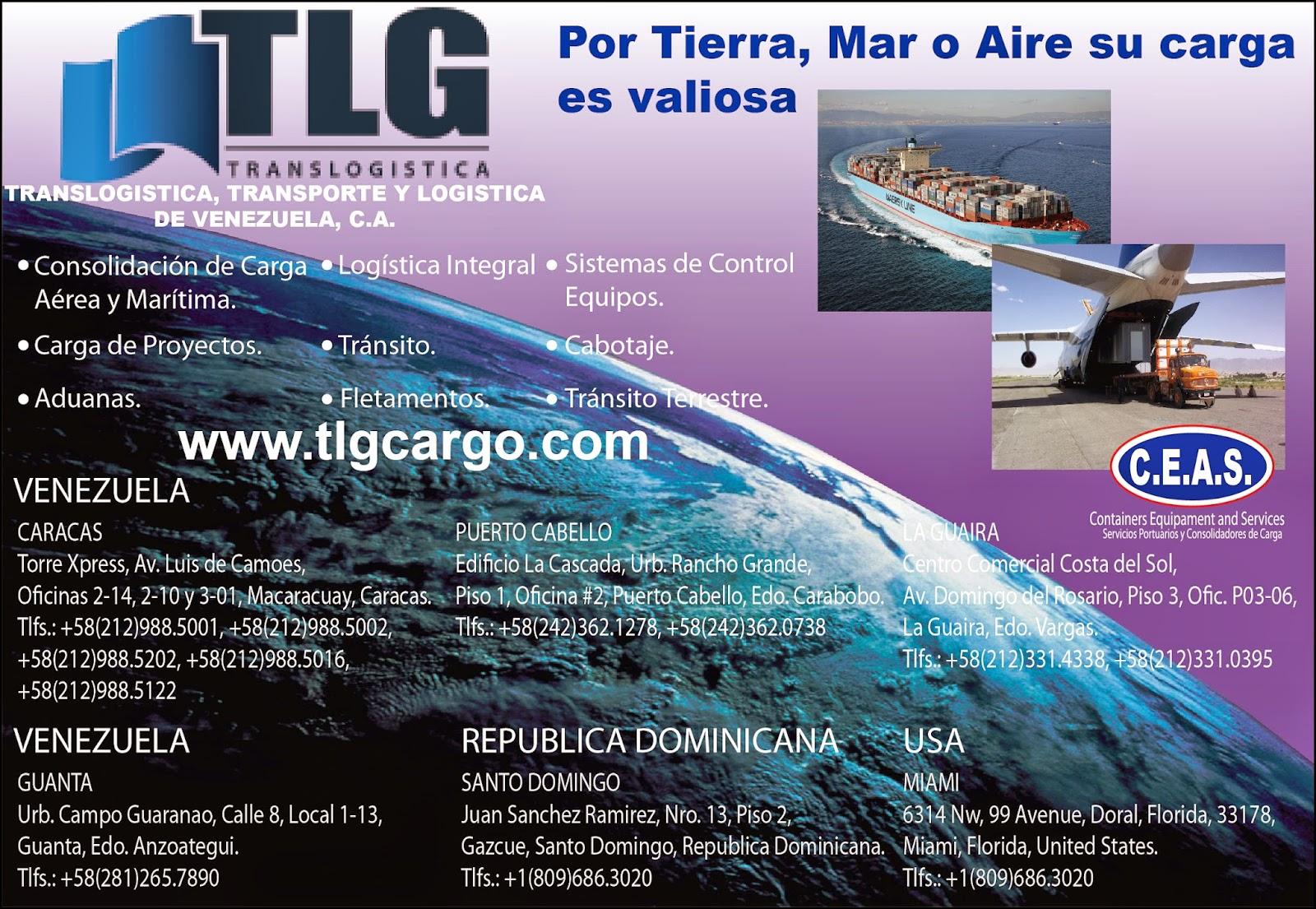TRANSLOGISTICA TLG en Paginas Amarillas tu guia Comercial