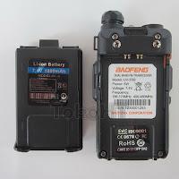 Baofeng UV5R B UV-5R B Dual Band VHF UHF With FM Radio