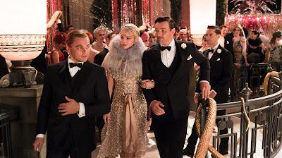Leonardo DiCaprio (Jay Gatsby), Carey Mulligan (Daisy), Joel Edgerton (Tom Buchanan) y Tobey Maguire (Nick Carraway)