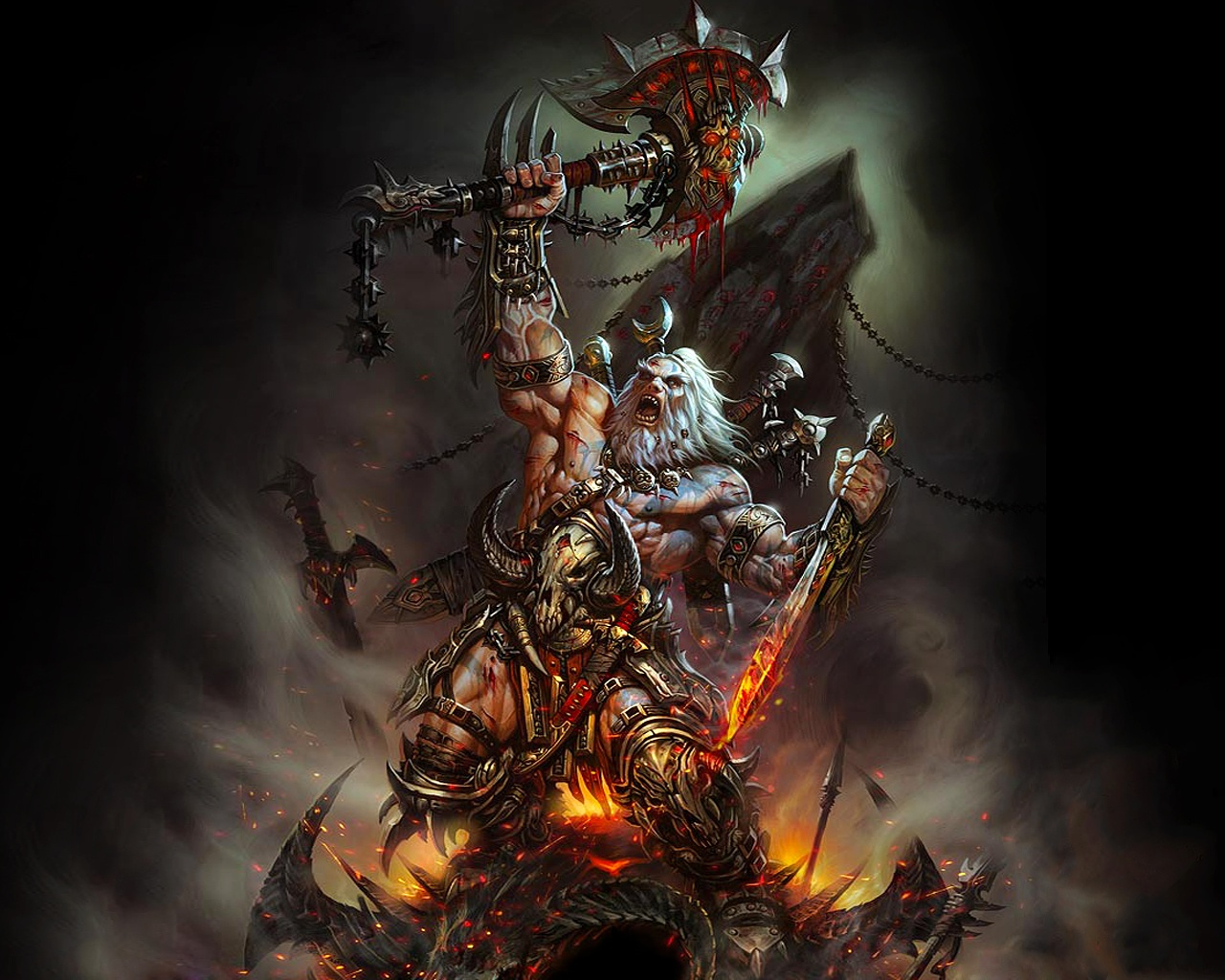 Diablo 3 Hd Wallpaper Free Hd Wallpapers