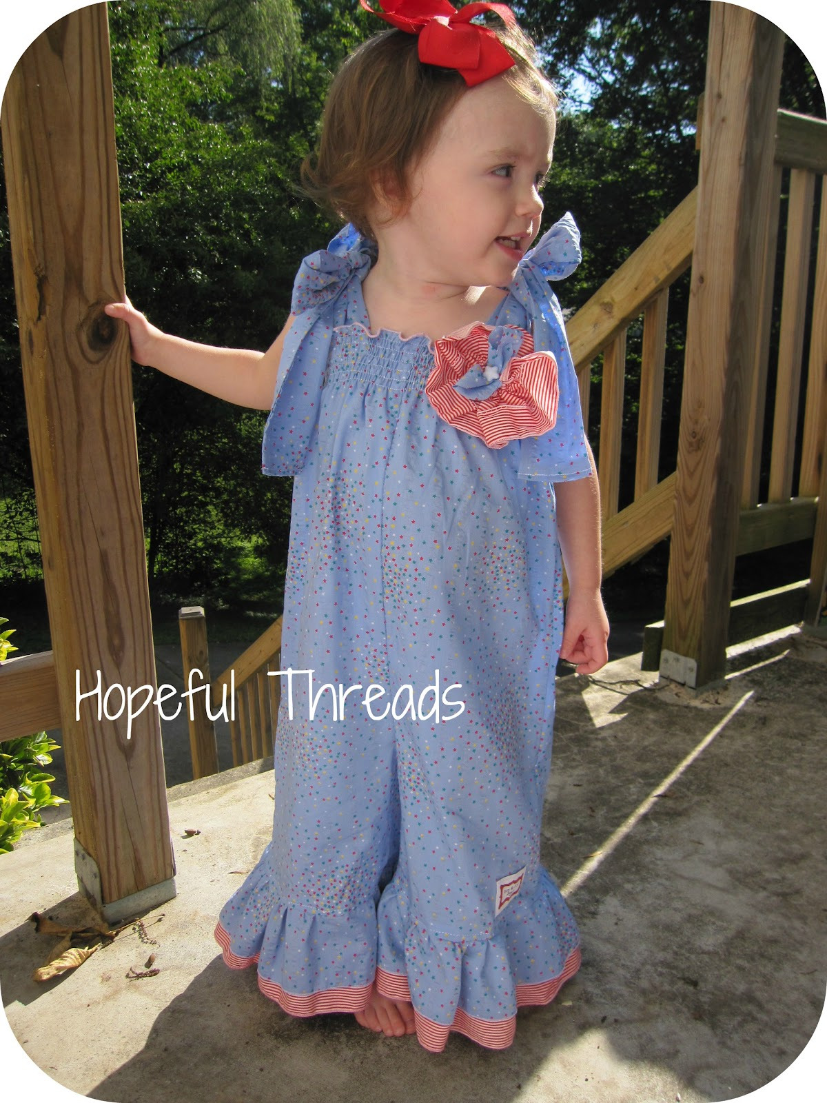 Hopeful Threads Pattern Review Ruthies Romper By Izzy Ivy Designs I Am Cotton Hippie Blue Ummmyes In Love