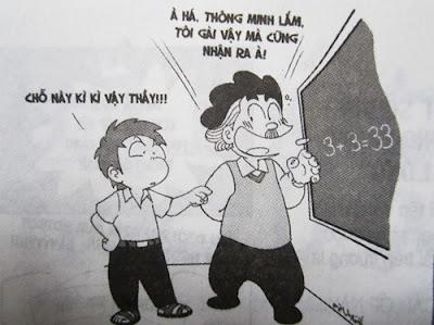 Chết cười với những câu nói bá đạo của giáo viên