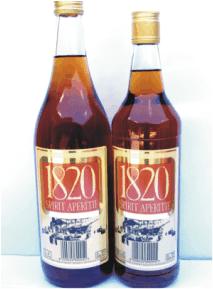 1820 BRANDY APERITIF