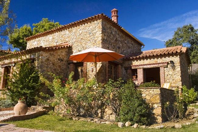 Estilo rustico casa de piedra rustica en andalucia - Casas de piedra rusticas ...