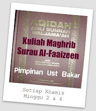 Ustaz Bakar - K/Maghrib, Khamis Minggu 2 & 4