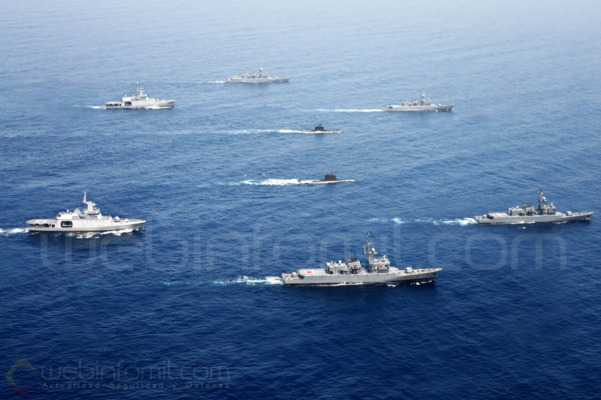 flota de la Armada Nacional de Colombia