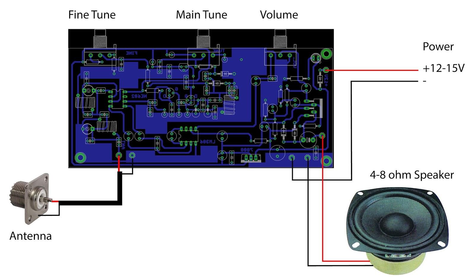 Ham Radio Receiver Schematic Diagram Ham Free Engine
