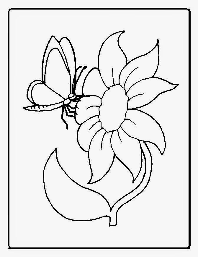 Dibujos de Flores para Colorear, parte 6