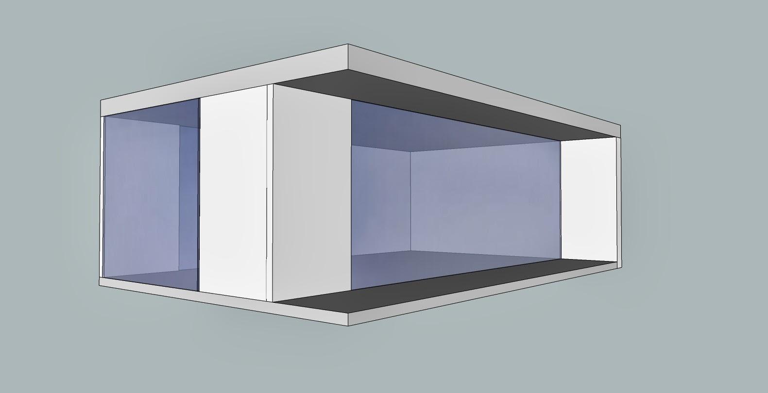 Prototipo de módulo para casa de muñecas moderna