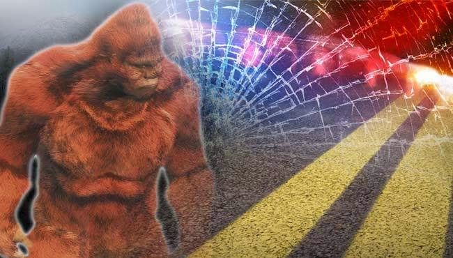 Bigfoot Causes Car Crash in Ohio