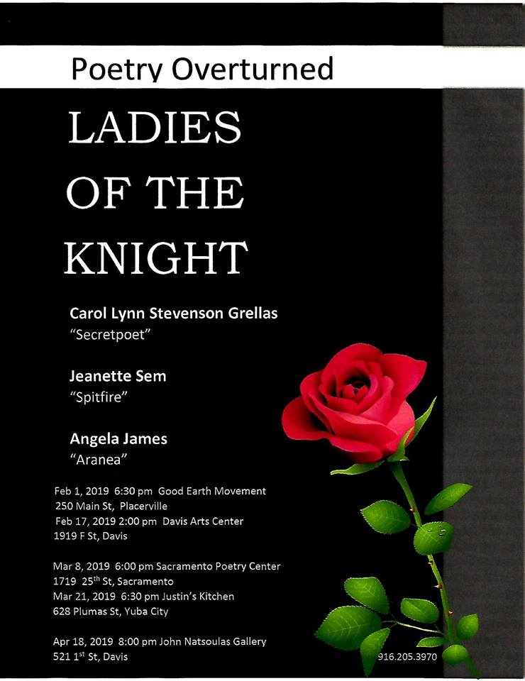 LADIES OF THE NIGHT in Yuba City Thurs. (3/23)