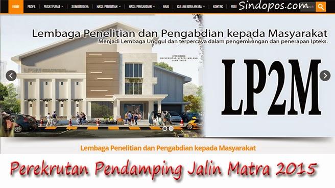 Perekrutan Pendamping Jalin Matra 2015