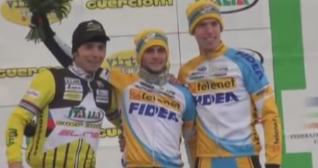 Podium grand prix Guerciotti 2014