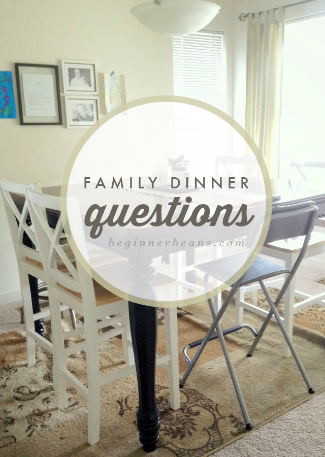 Conversations for Family Dinner Time