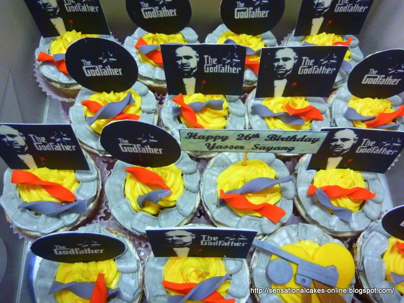 Godfather Movie Wedding Cakes