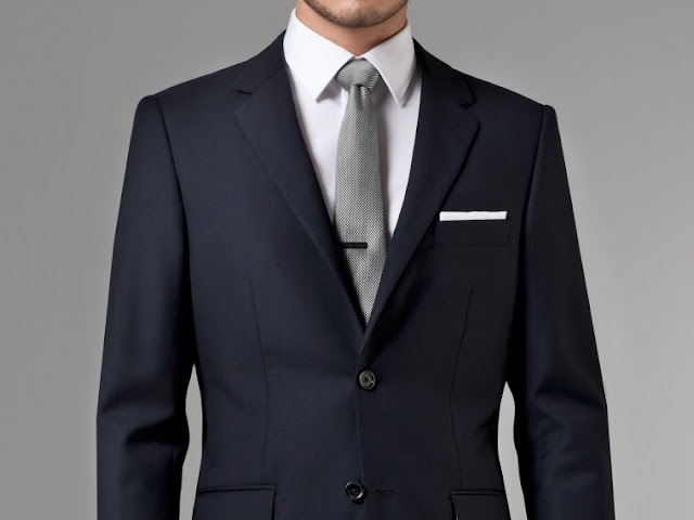 Indochino Navy Blue Suit Review