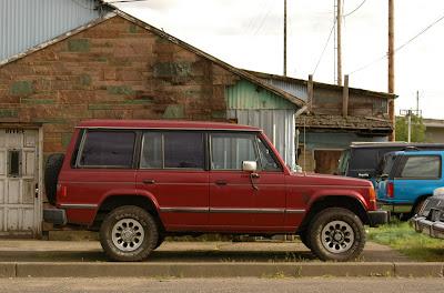 1988 Mitsubishi Montero.