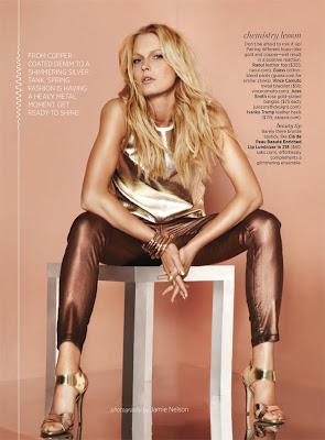 metallic fashion, shape magazine, top fashion photographer nyc