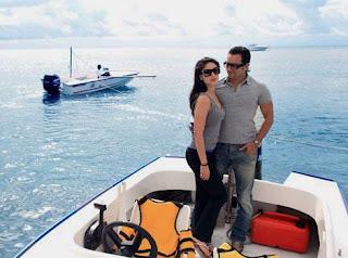 Kareena Kapoor and Saif Ali Khan Honeymoon