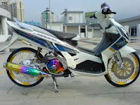 Modifikasi Honda Vario ring 17