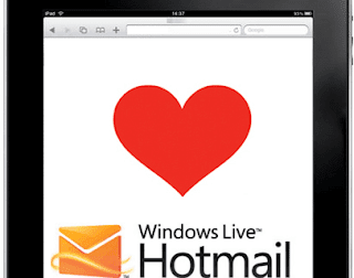 hotmail en ipad