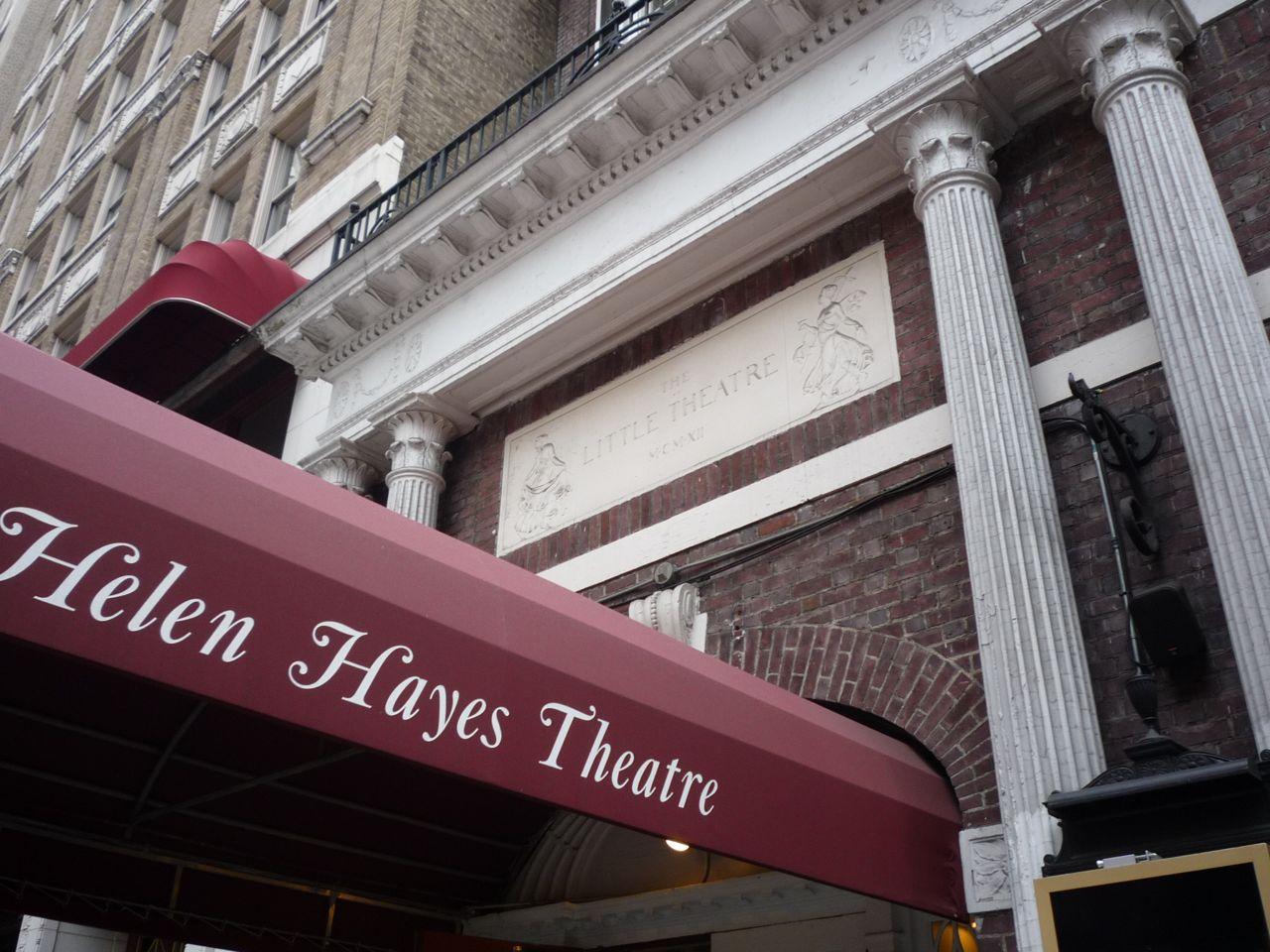 at the helen hayes theatre a new act for second stage. Black Bedroom Furniture Sets. Home Design Ideas