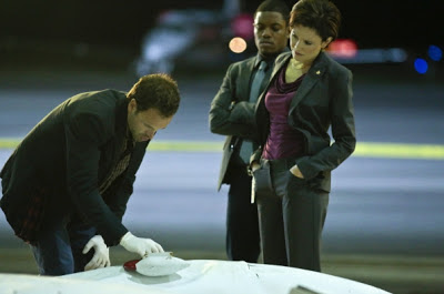 Reiko Aylesworth as Miranda Molinari in Elementary Episode # 6 Flight Risk