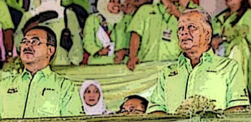 Ali Rustam dan warna hijau