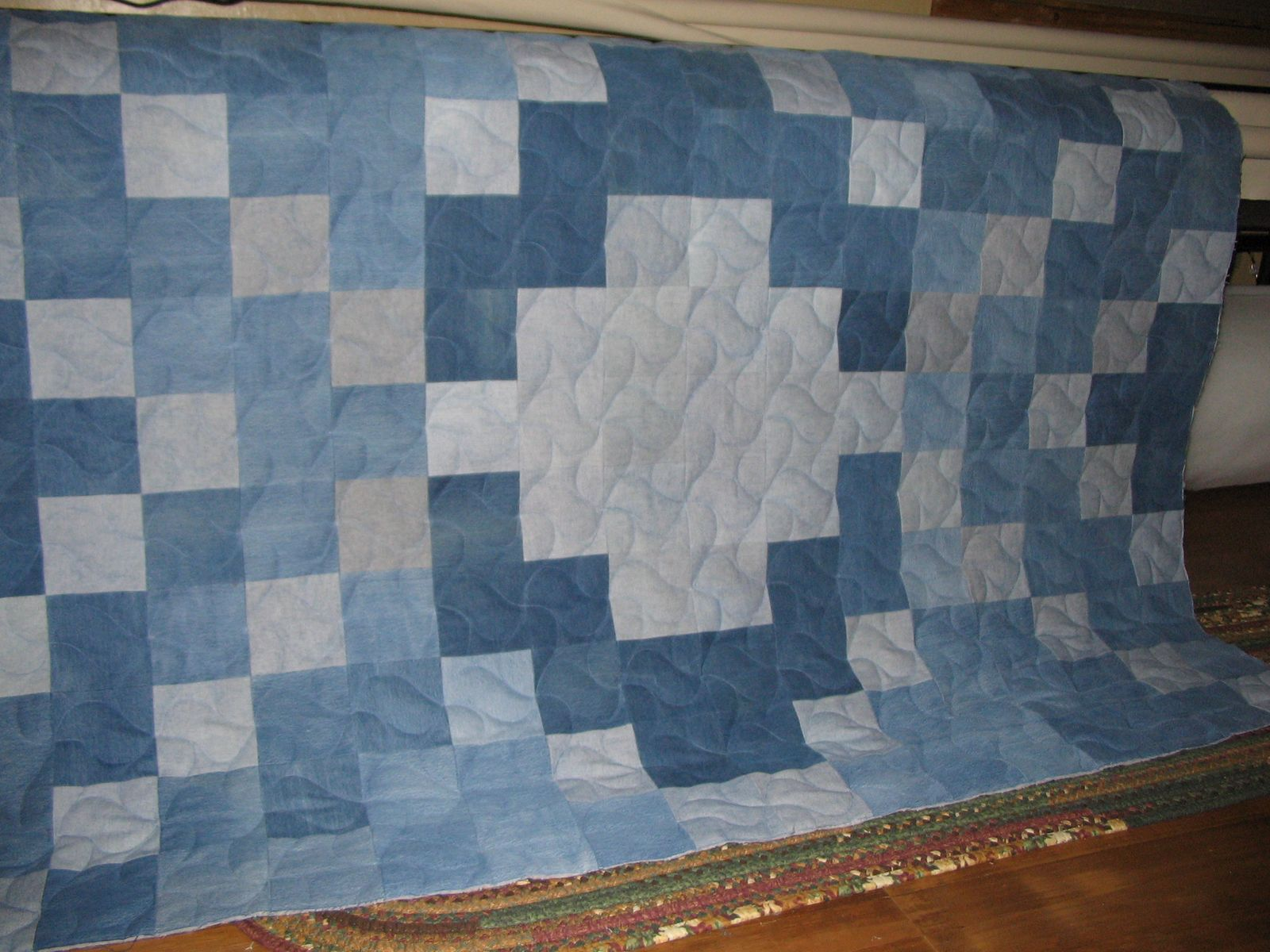 Quilting In The Bunkhouse Denim