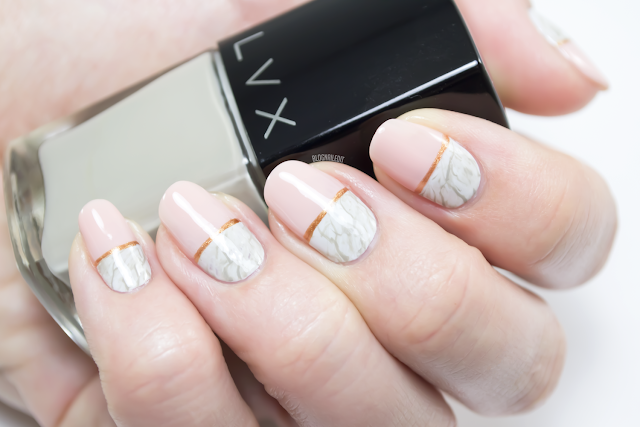 Marvelous Marble by Katy at Nailed It - www.blognailedit.co