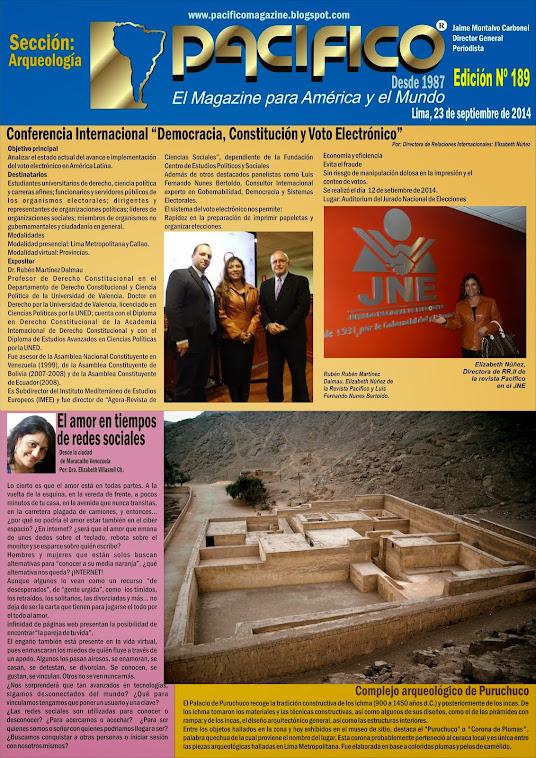 Revista Pacífico Nº 189  Arqueología