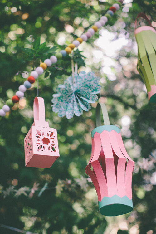 Learn to make these paper lanterns.