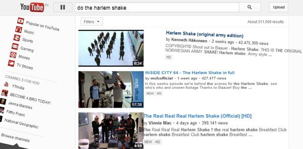 how to make google do the harlem shake