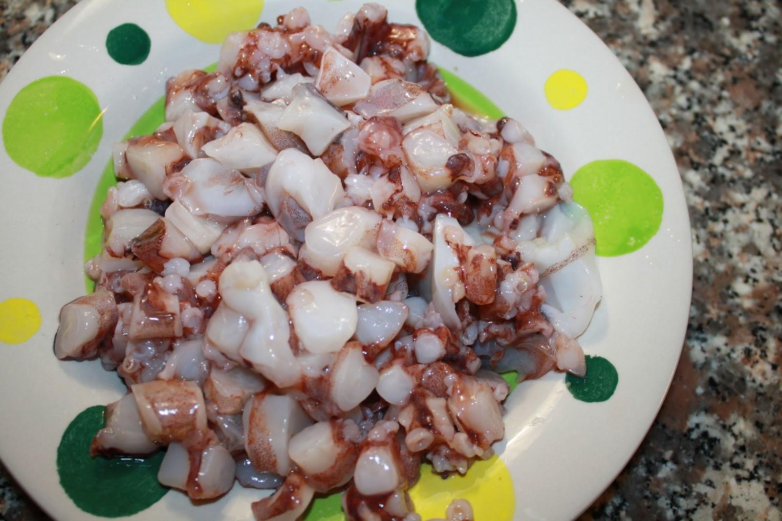 Come cucinare il calamaro
