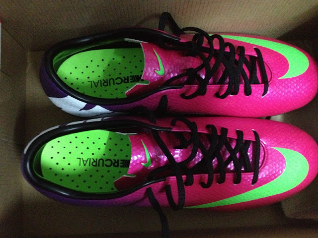 unboxing nike mercurial veloce