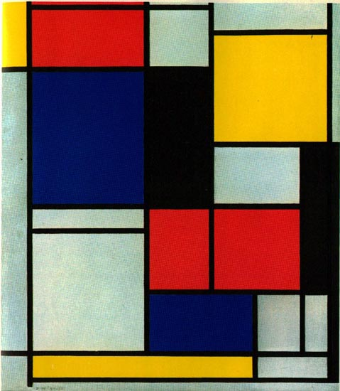 Inspired by Mondrian: Art for Kids - The Imagination Tree