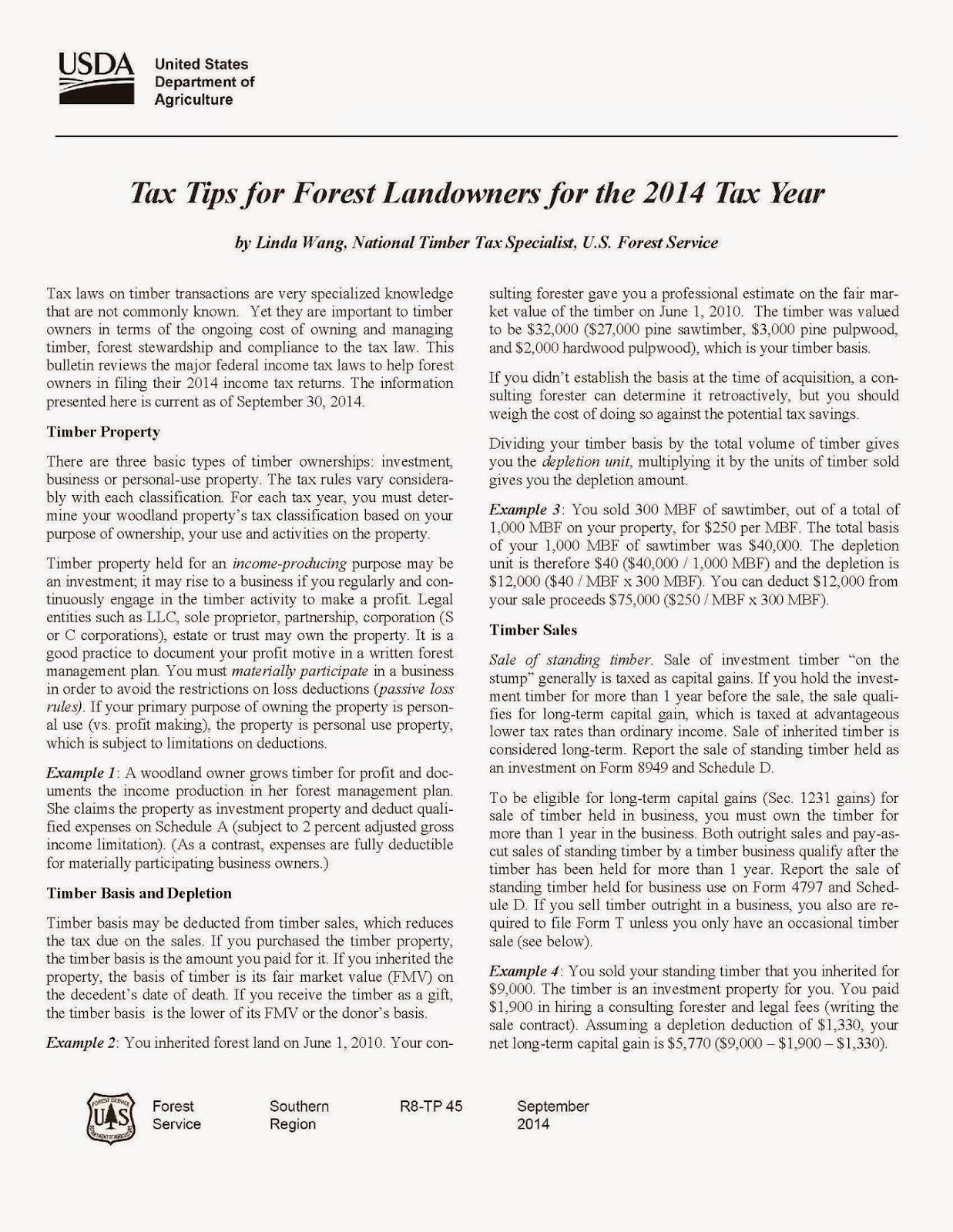 http://www.aces.edu/~henshmd/temp/TaxTips2014.pdf