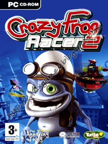 Free Download Games - Crazy Frog Racer 2