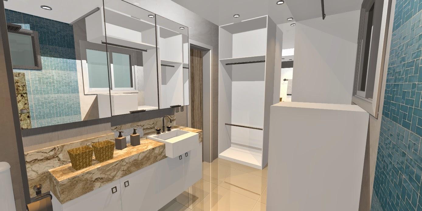 armario para banheiro com closet