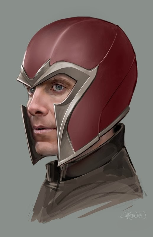 Arte conceptual de X-Men: Días del Futuro pasado - Magneto