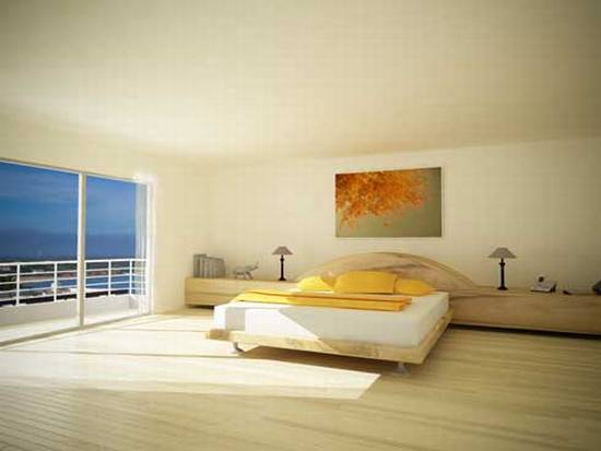 Clean And Simple Modern Minimalist Bedroom Design