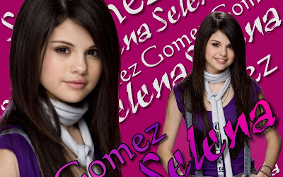 Salena Gomez-HD Wallpaper pink lips